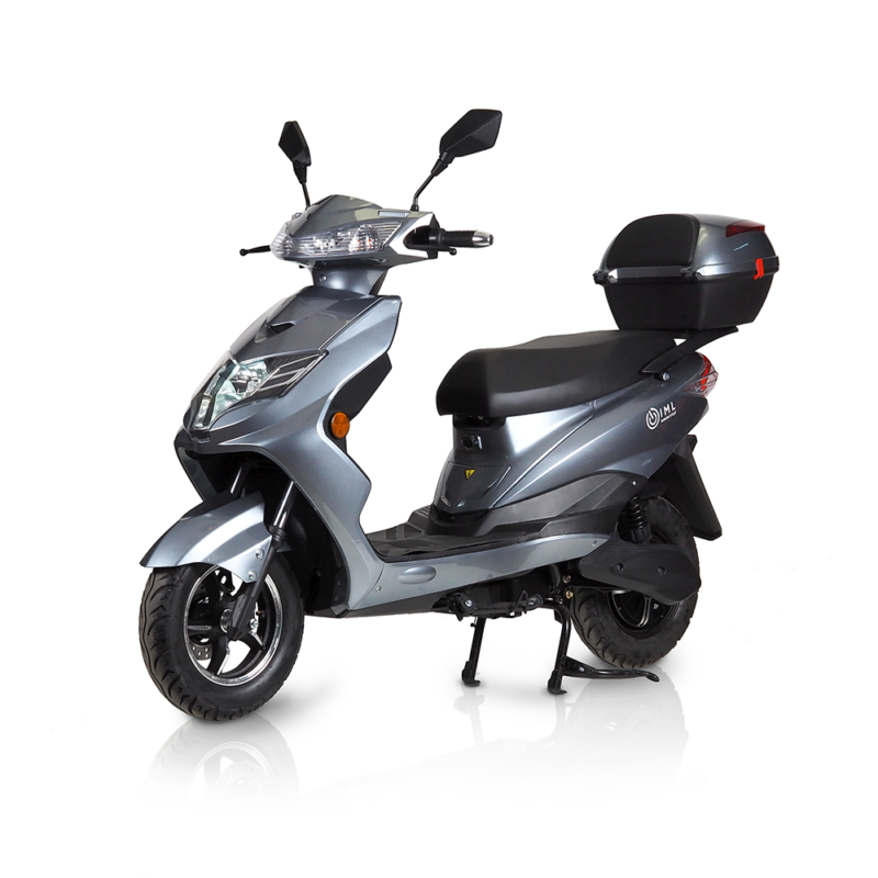 electric scooter eagle iamelectric silver