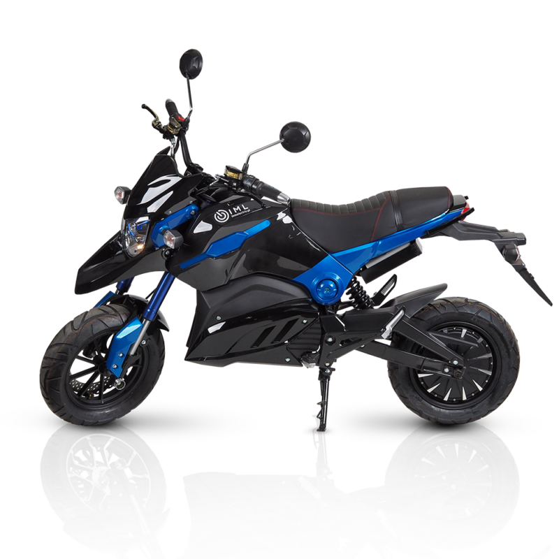 electric motorcycles blade s black blue