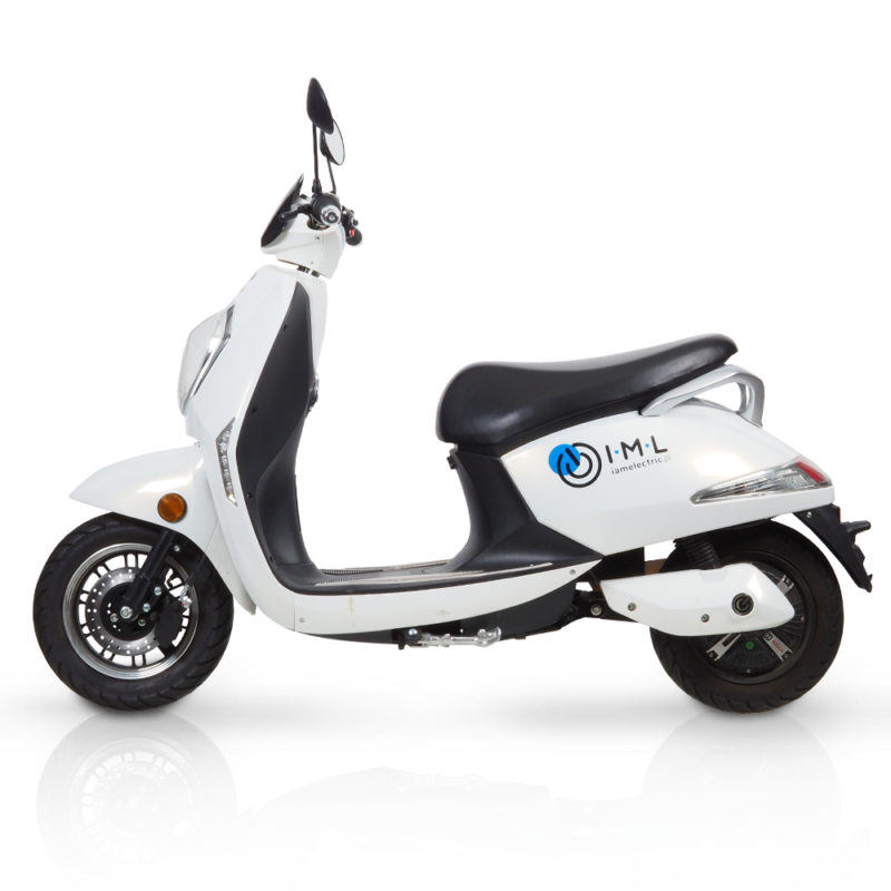 electric scooter grace sunra white 50cc