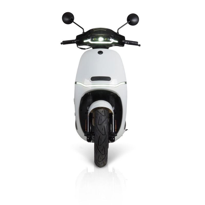electric motorcycles iamelectric white
