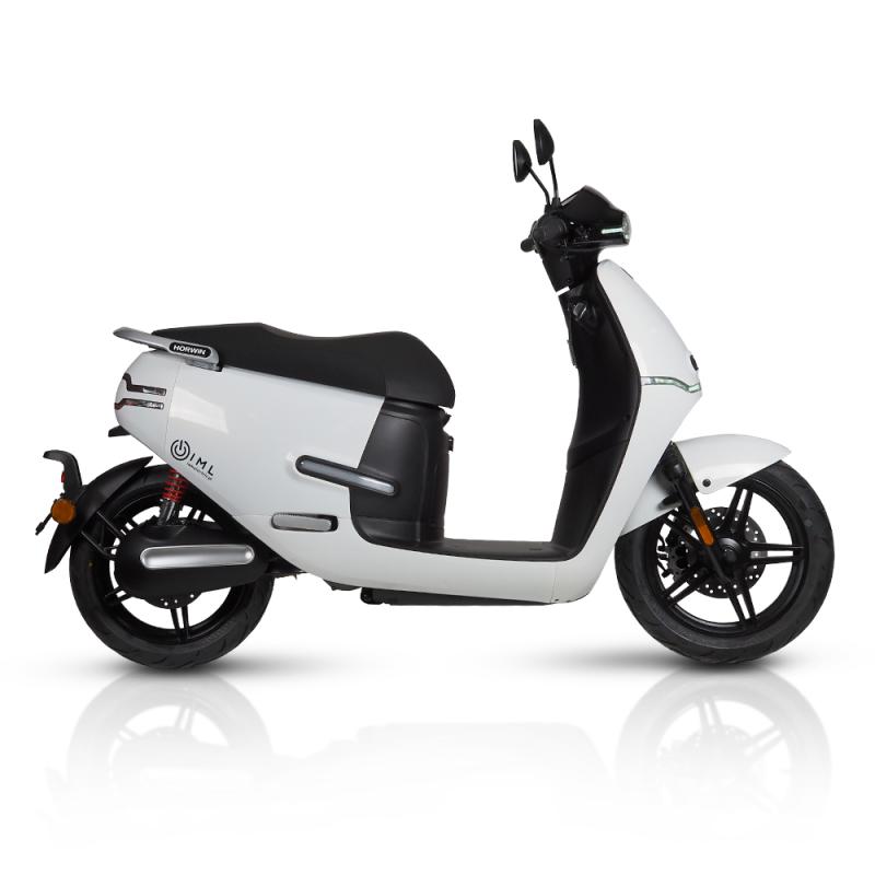 electric Motorcycles ek3 white iamelectric