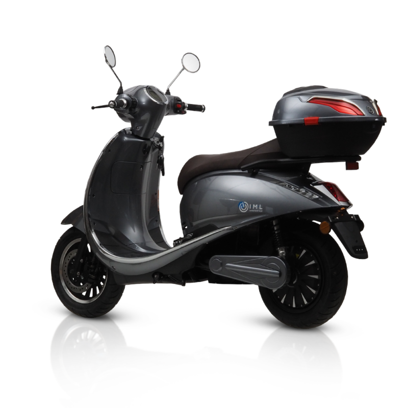 electric motorcycles roma retro scooters silver