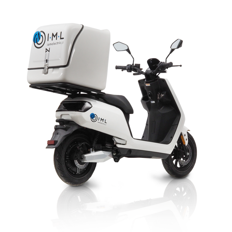 e-scooter s5 delivery white puig iamelectric