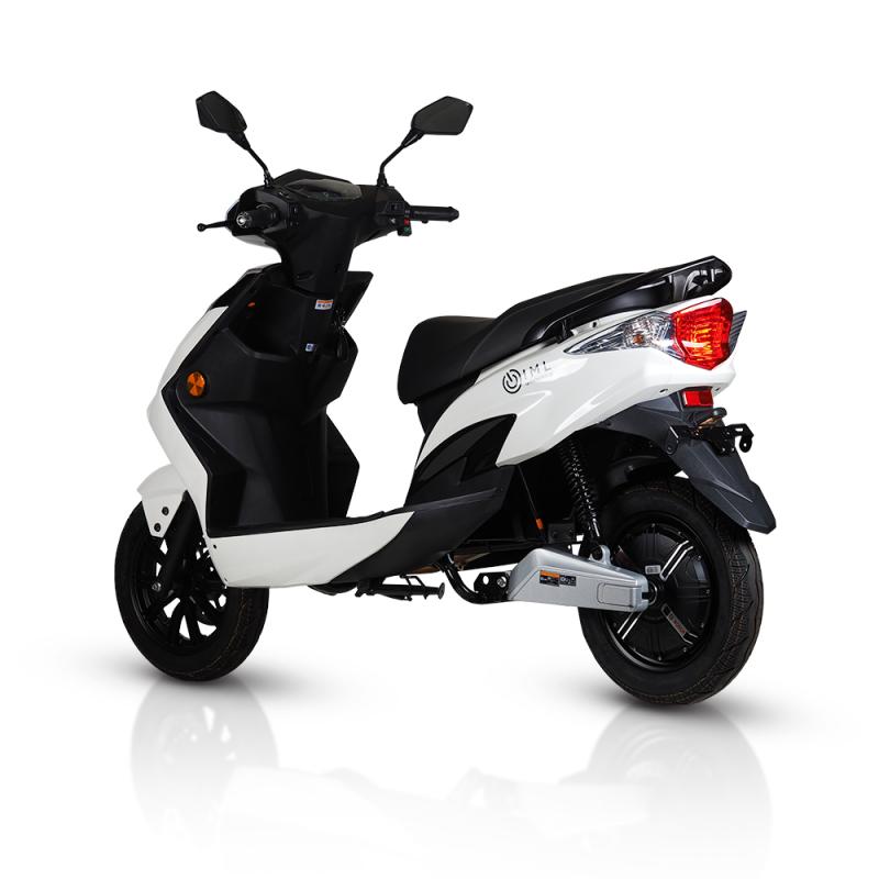 e-scooter white iamelectric